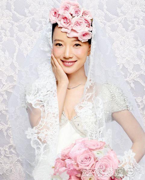 婚纱摄影 婚纱照新闻 明星婚纱_发型设计